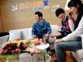 李炜钱枫海陆参加《都爱笑》第八期 后台采访照曝光
