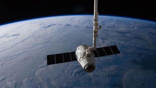 """美国:""""龙""""飞船第三次向国际空间站运货"""