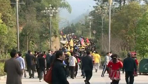 郴州汝城:毅行九龙江 湘粤赣千人越野徒步50公里