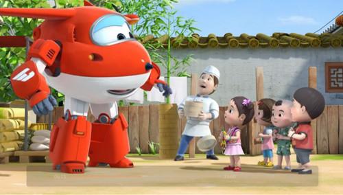 """讲述了飞机机器人乐迪与一群称为""""超级飞侠""""的小伙伴环游世界,为小"""