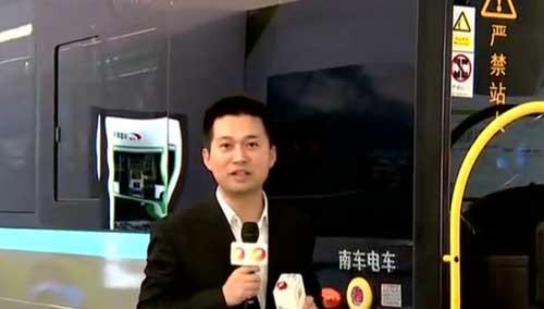 南车株机储能式电车在宁波基地下线 全球首创十秒级闪充 解决公交车快速充电难