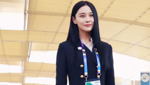 张馨予坐实大使身份 官方称赞中国最红女演员