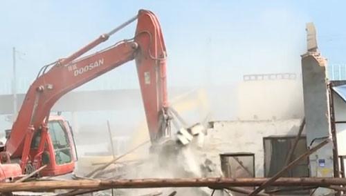 长沙高铁新城片区拆违清零