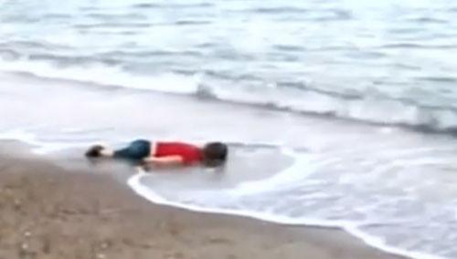 三岁小难民溺亡 国际哗然谴责难民政策