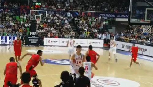 17分大胜约旦 中国队三连胜晋级复赛