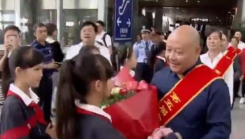 第五届全国道德模范载誉返湘